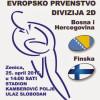 ENC 2014/2016, Zenica, 25.04.2015, BiH-Finska